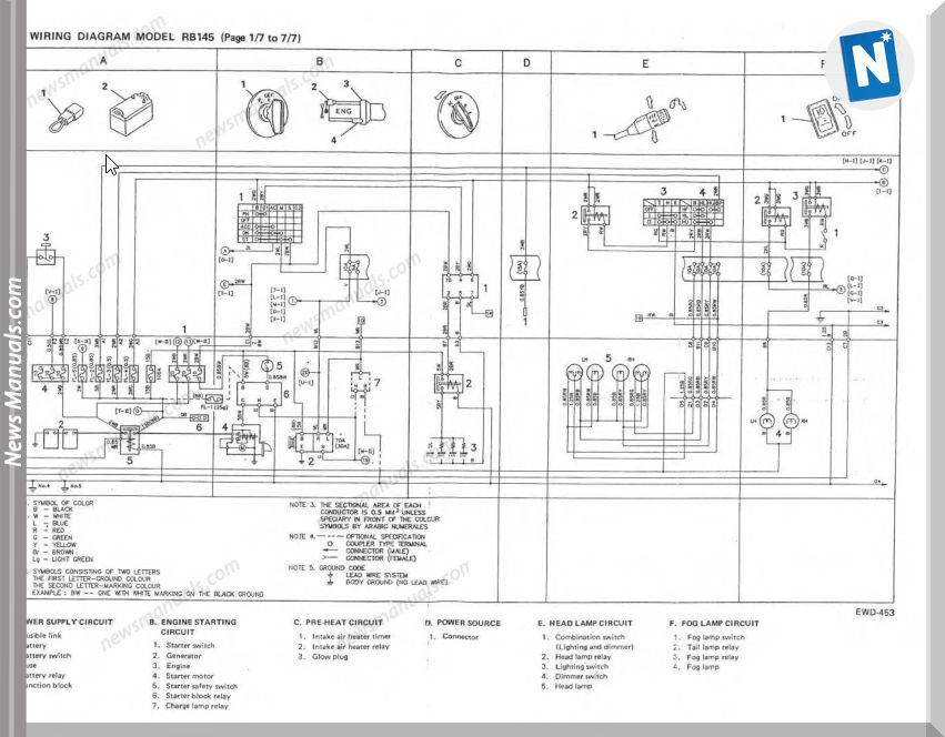 Hino Rb 145 Owners Manual