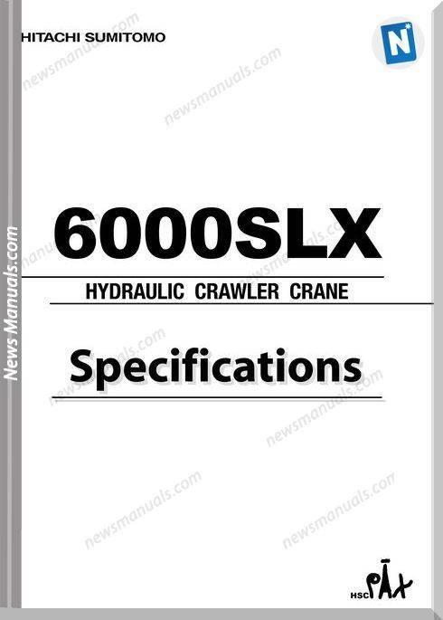 hitachi sumitomo 6000slx hydraulic crawler crane bobcat 553 wiring diagram pdf