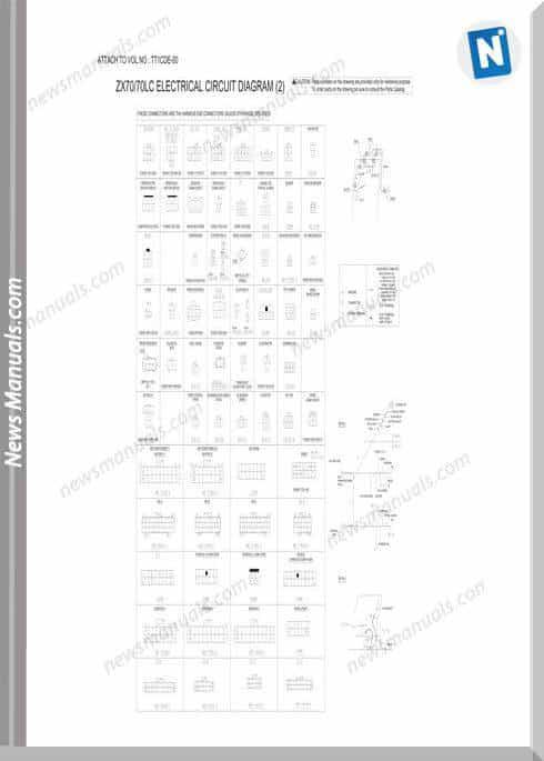 Hitachi Zaxis Zx70 70lc Hydraulic Wiring Diagram