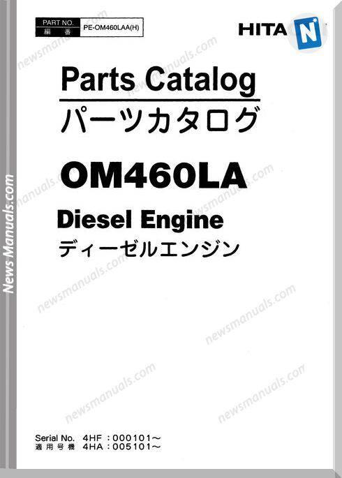 Hitachi Zw310 Engine Parts Catalogue Pe-Om460Laa(H)