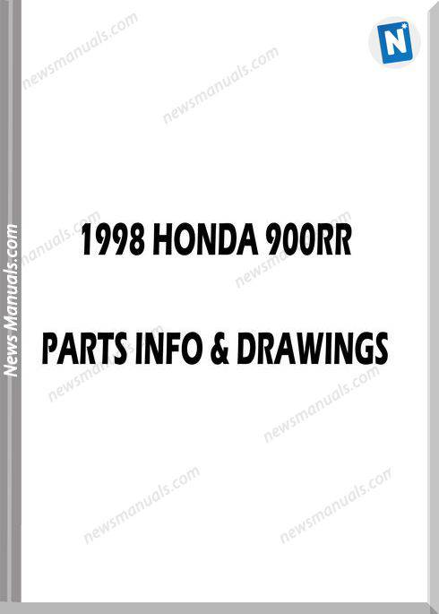 Honda Cbr900Rr 98 Parts Manual And Microfiches
