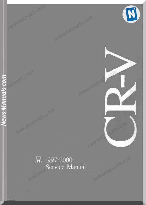 Honda Crv 1997 2000 Service Manual