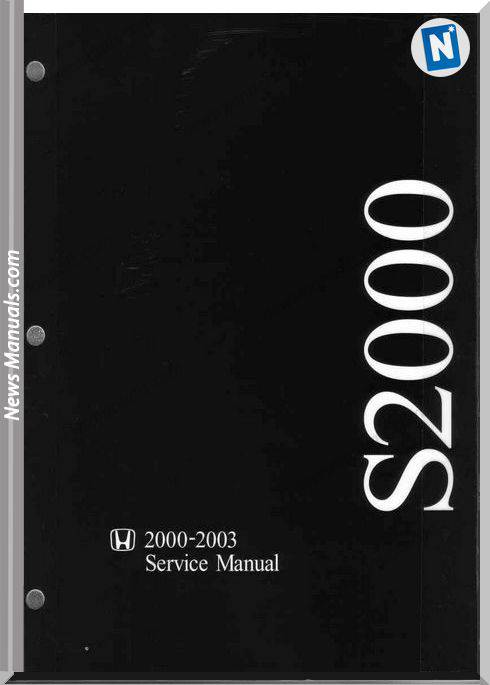 Honda S2000 2000 2003 Service Manual