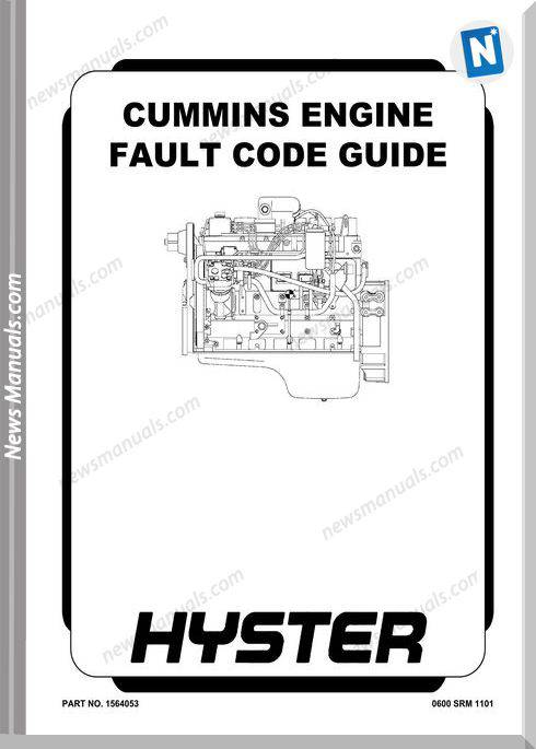 Hyster Cummins Engine All Fault Code Guide English