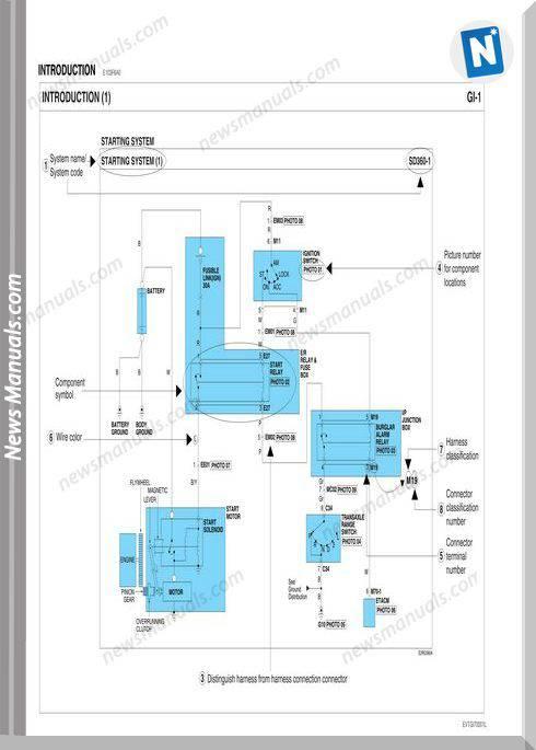 Hyundai Hd 6 Hd 72 Hd 78 Circuit Schematic