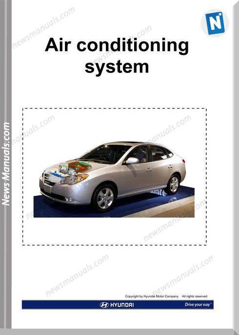 Hyundai Training Cd2 Air Conditioning System 2009