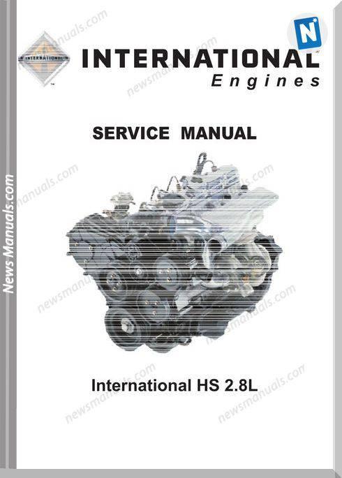 International Hs 2.8L Workshop Manual