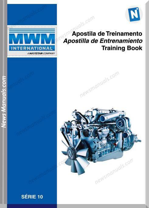 International Mwm Training Book Series 10 Diesel Engine