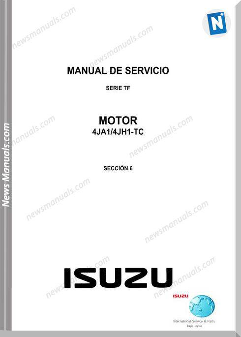 Isuzu 4Ja1 4Jh1-Tc Models Engine Service Manual