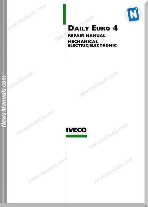 Iveco Daily Euto 4 2006-2009 Repair Manual