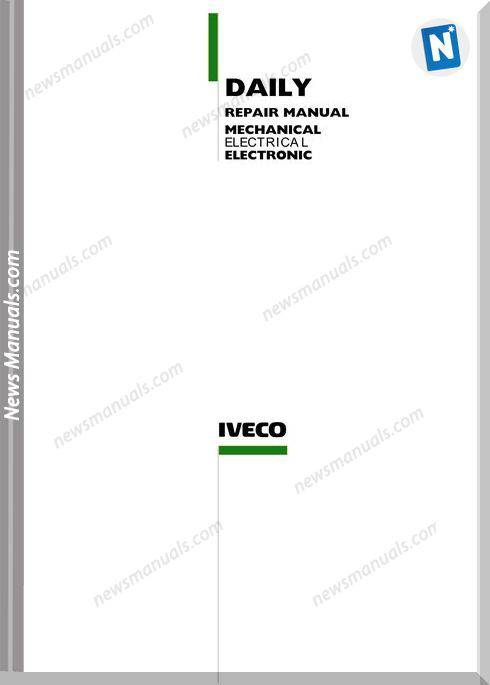 Iveco Daily Repair Manual 2002 3 Rd Edition