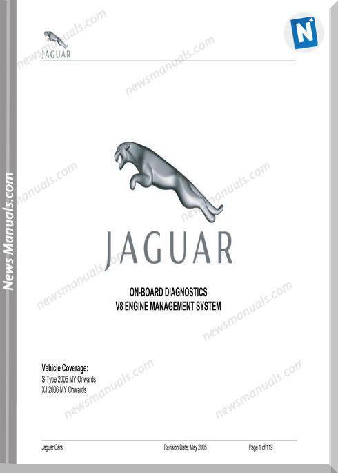 Jaguar On Board Diagnostics 2006 My On S-Type Xj V8