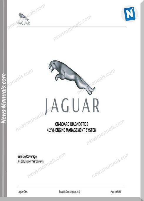 Jaguar On Board Diagnostics 2010 My On Xf 4.2 V8