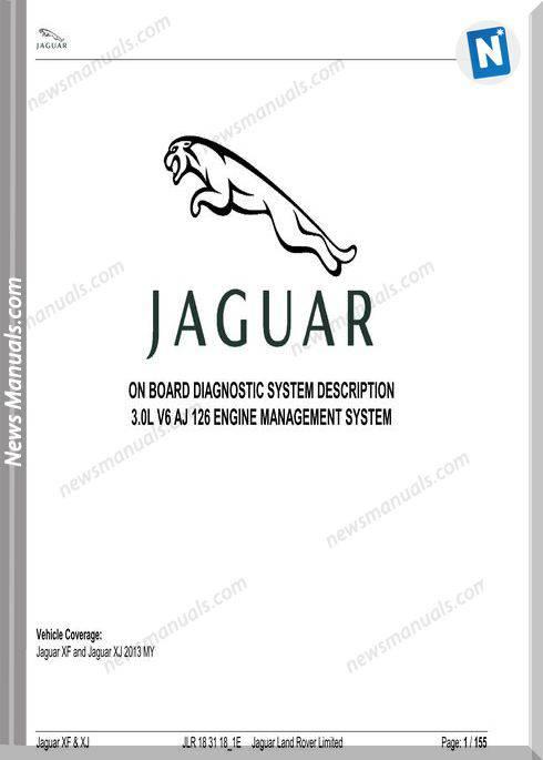 Jaguar Onboard 2013 Xf Xj 3.0 V6 Aj126 Diagnostics