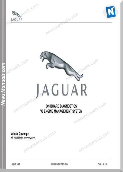 Jaguar Onboard Diagnostics 2008Year On Xf V8 Models