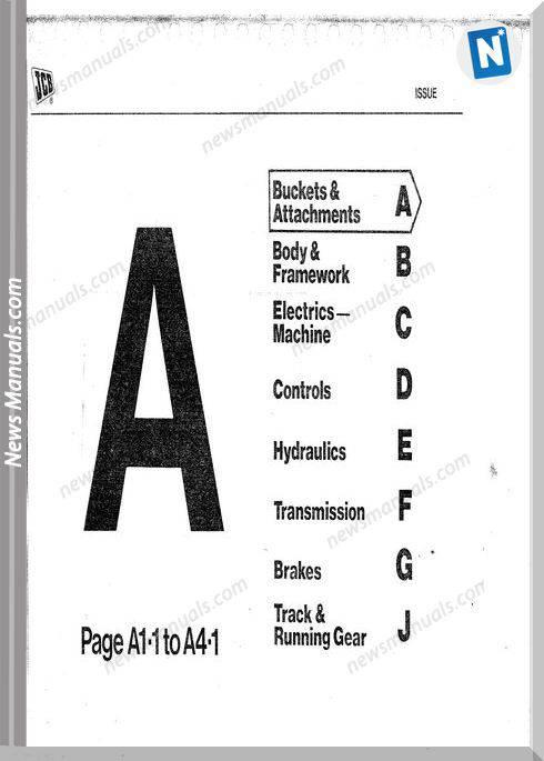 Jcb Old 112 114 Parts Catalogue