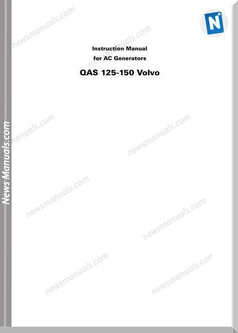 John Deere Qas 125-150 Ac Generators Training Manual