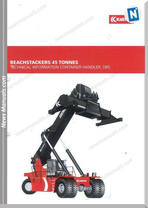 Kalmar Reachstackers 45T Drt450 Technical Information