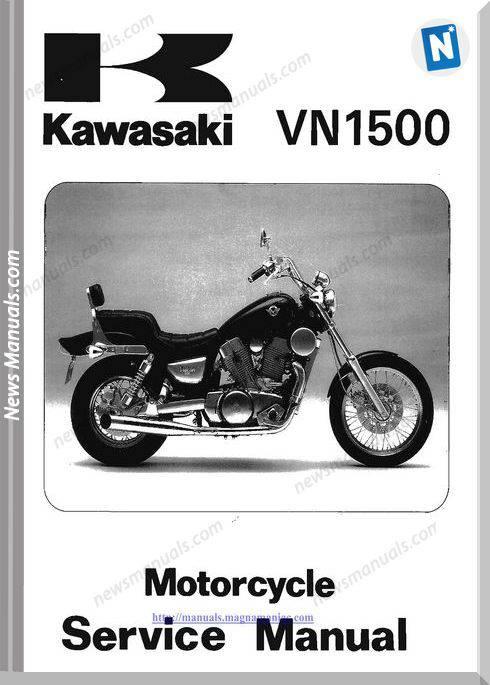 Kawasaki Vn1500 87 99 Service Manual