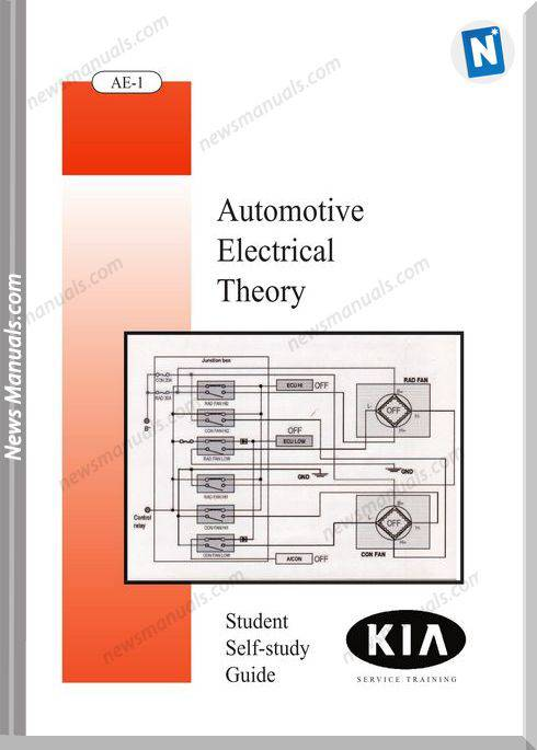 Kia Booklet Automotive Electrical Theory