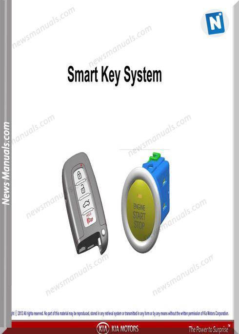 Kia Training Smart Key System 120110 Kmc