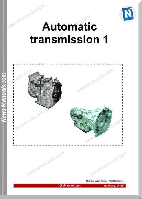 Kia Training Step 1 Automatic Transmission