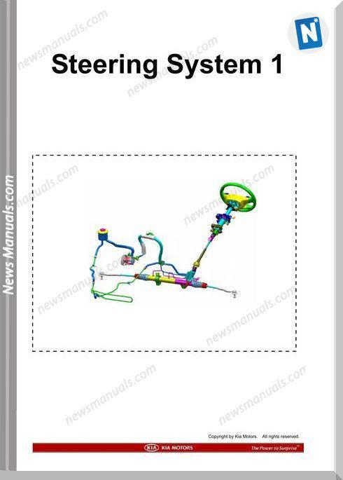 Kia Training Step 1 Steering System 1 2009