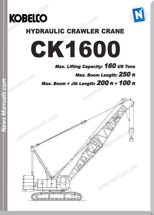 Kobelco Hydraulic Crawler Crane Ck1600