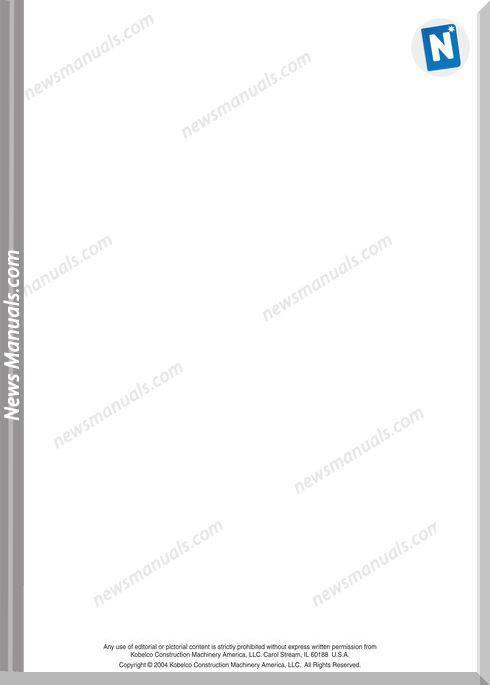 kobelco mark8 series excavator service repair manual