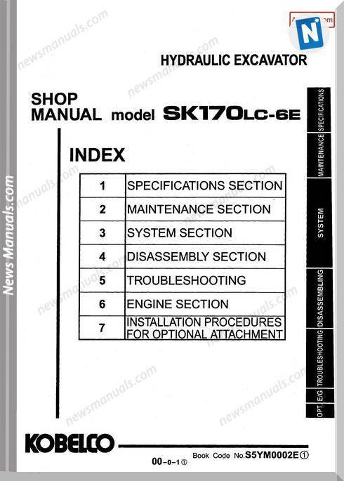 Kobelco Sk170Lc 6E Hydraulic Excavator No S5Ym0002E