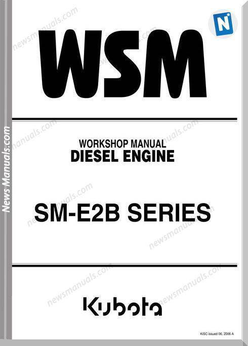 Kubota Sm E2B Series Diesel Engine