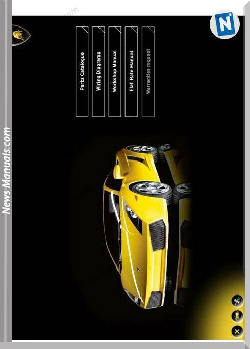 Lamborghini Gallardo Models 10 2003 Workshop Manual