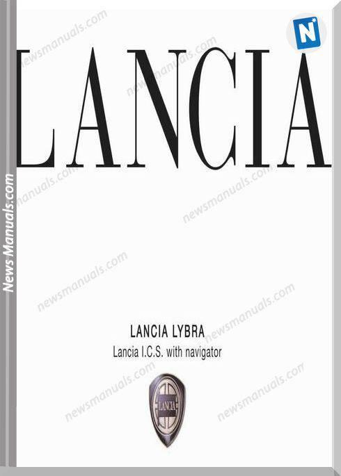 Lancia Lybra Ics Training Manuals