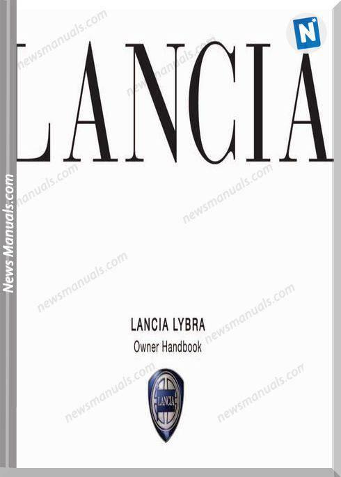 Lancia Lybra Owner Handbook