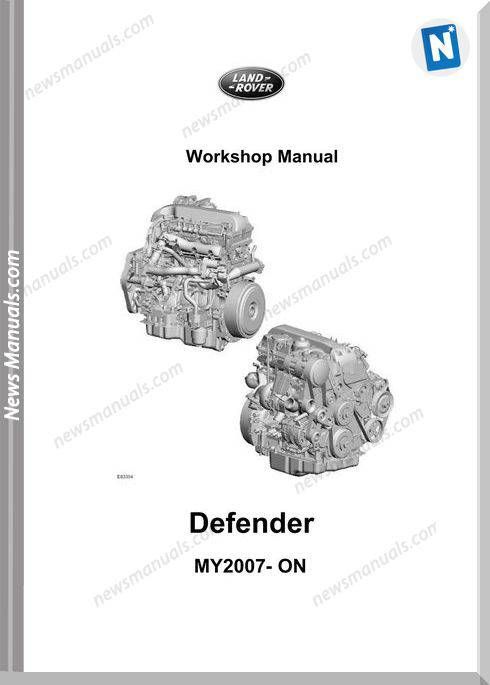 Land Rover 2010 06 Defender My07 Workshop Manual