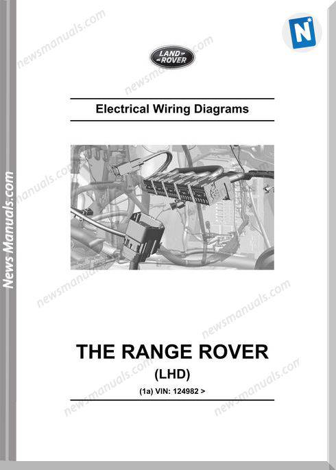 Land Rover Range Rover 2014 L405 Wiring Diagram