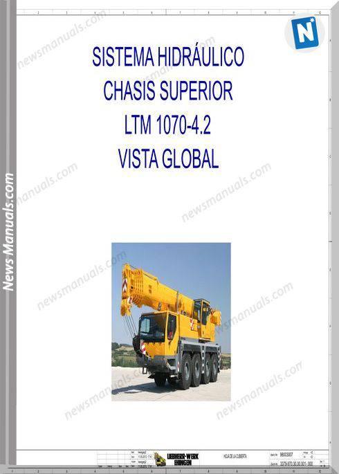 Liebherr Crane Ltm 1070-4.2 Hydraulic Schematic