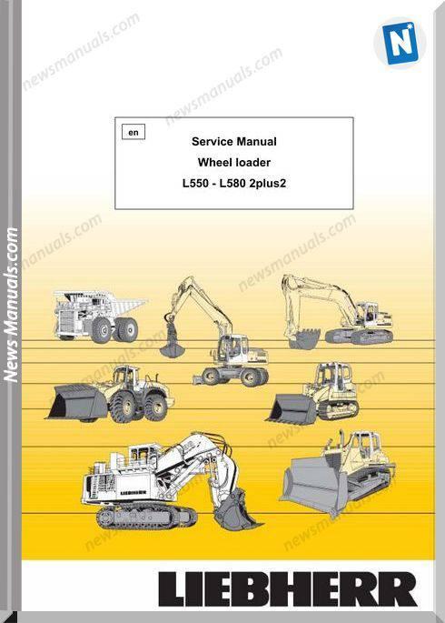 Liebherr L550 - L580 2 Plus Service Manual