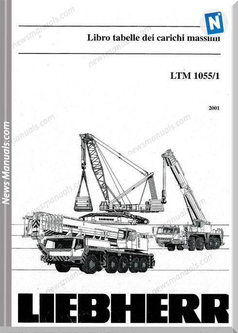 Liebherr Ltm 10551 Load Diagrams
