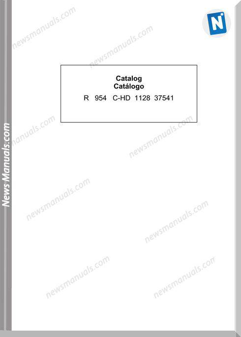 Liebherr R954 C Hd 1128 37541 En Parts Catalog