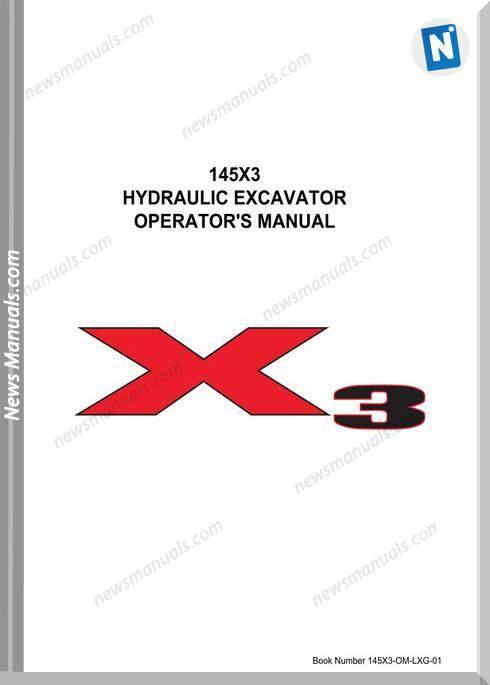 Linkbelt Excavators 145X3 Spin Ace Shop Manual
