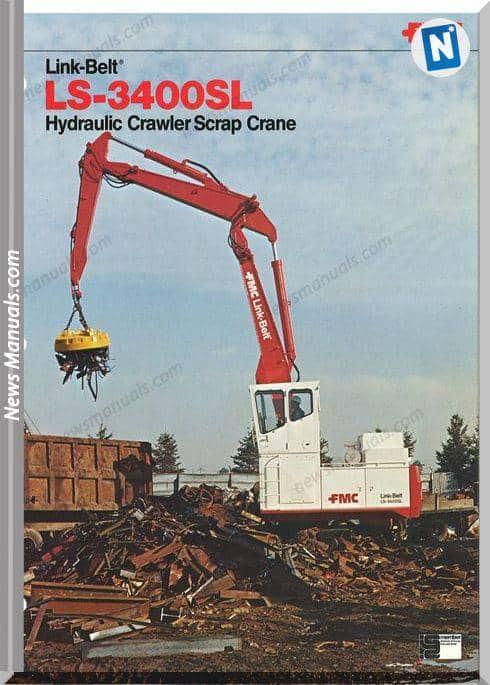 Linkbelt Excavators 3400 Slls Workshop Manual