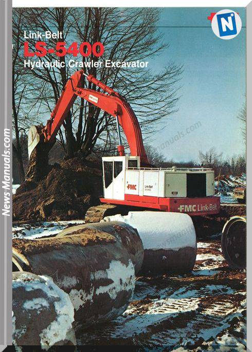 Linkbelt Excavators 5400Ls Workshop Manual