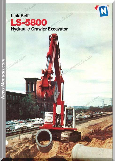 Linkbelt Excavators 5800Ls Workshop Manual