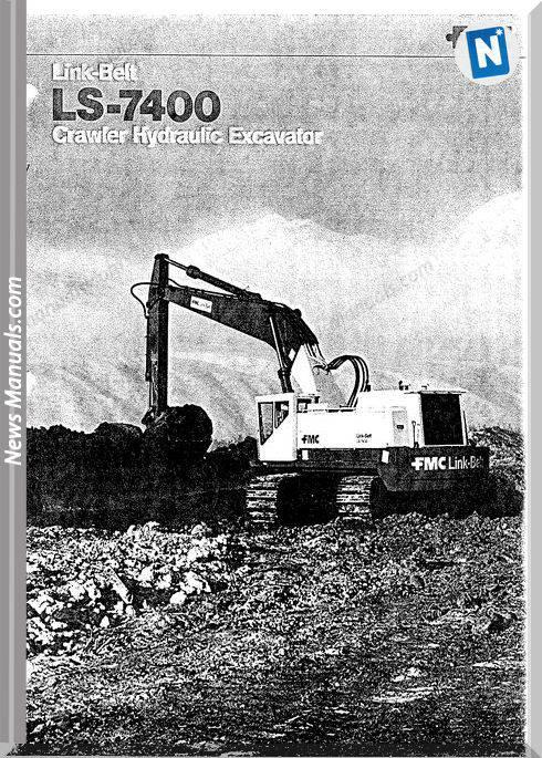 Linkbelt Excavators 7400Ls Workshop Manual