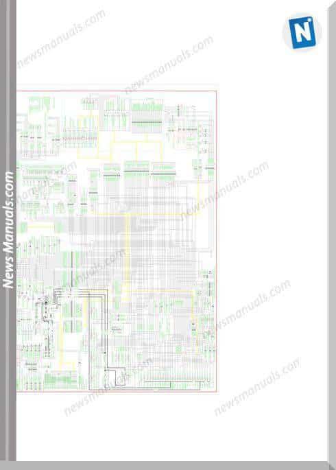 Liugong 877Iii-E Electrical Schematic