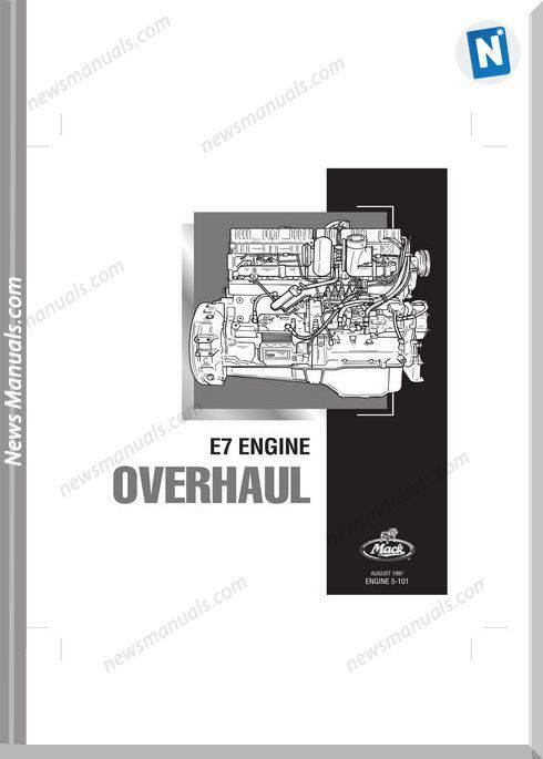 Mack E7 Engine 1997 Overhaul