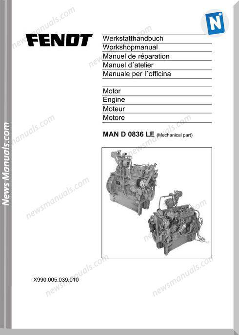 Man D 0836 Le Workshop Manual Engine