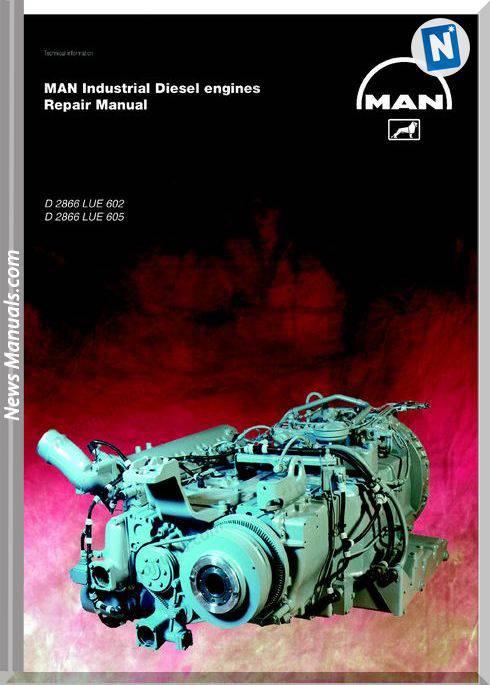 Man Diesel Engines D 2866 Lue 602 D 2866 Lue 605 Repair Manual