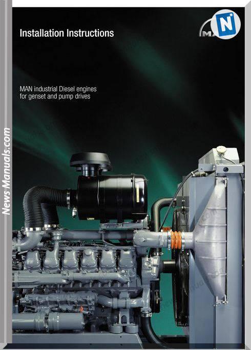 Man Diesel Engines For Gensei-Pump Drives Installation